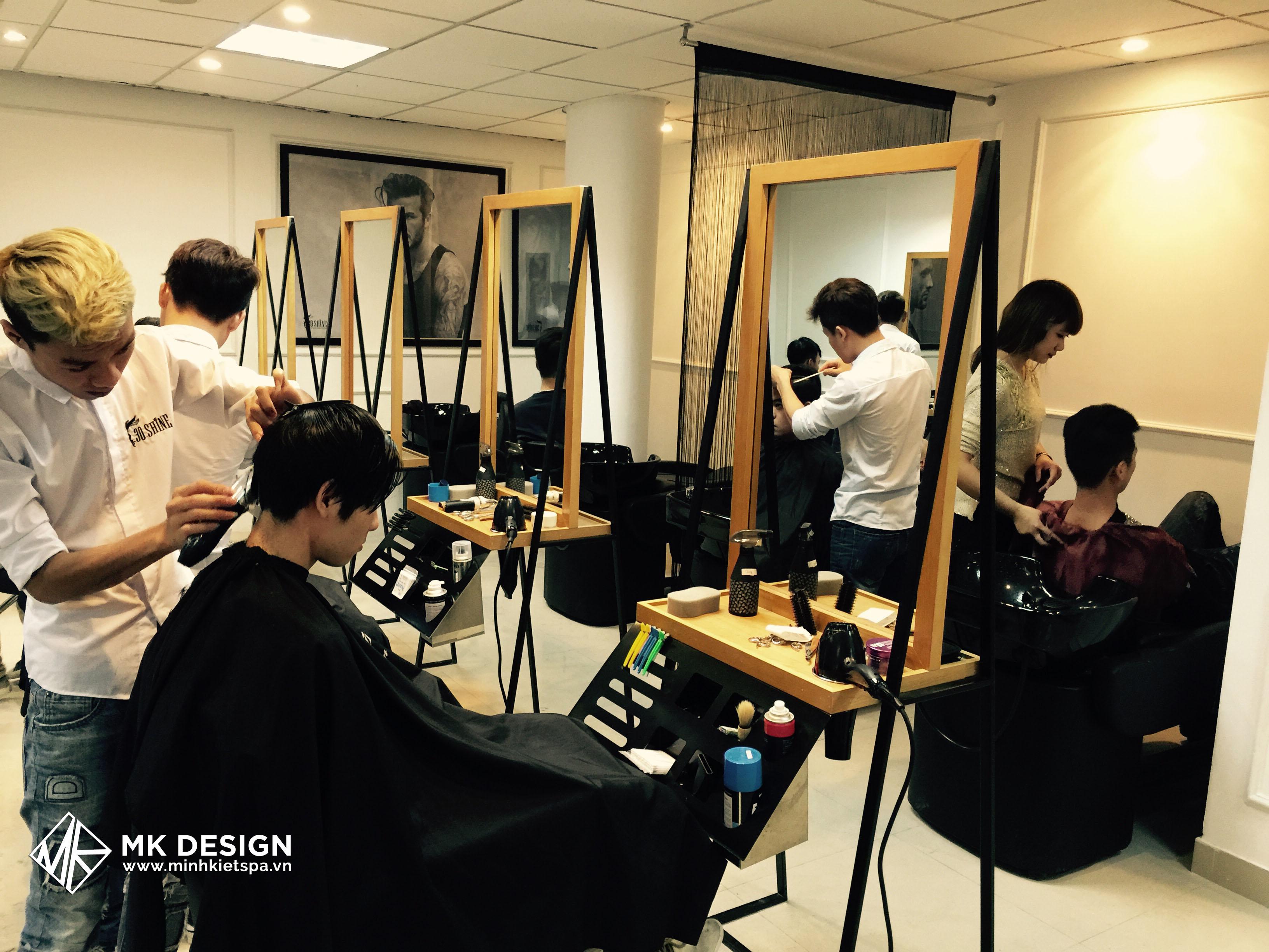 Thiết Kế Hair Salon 30 Shine - Mẫu Thiết Kế Hair Salon Hiện Đại