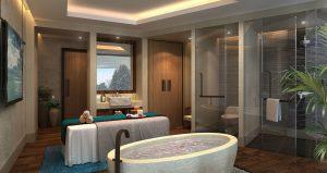 Thiết kế spa đơn giản tại nhà theo phong cách độc đáo riêng