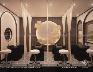 Thiết kế nội thất Spa - Phân chia theo công năng.