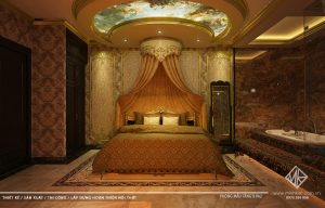 Thiết kế massage Nine cơ sở 2 - Phong cách thiết kế Massage Luxury