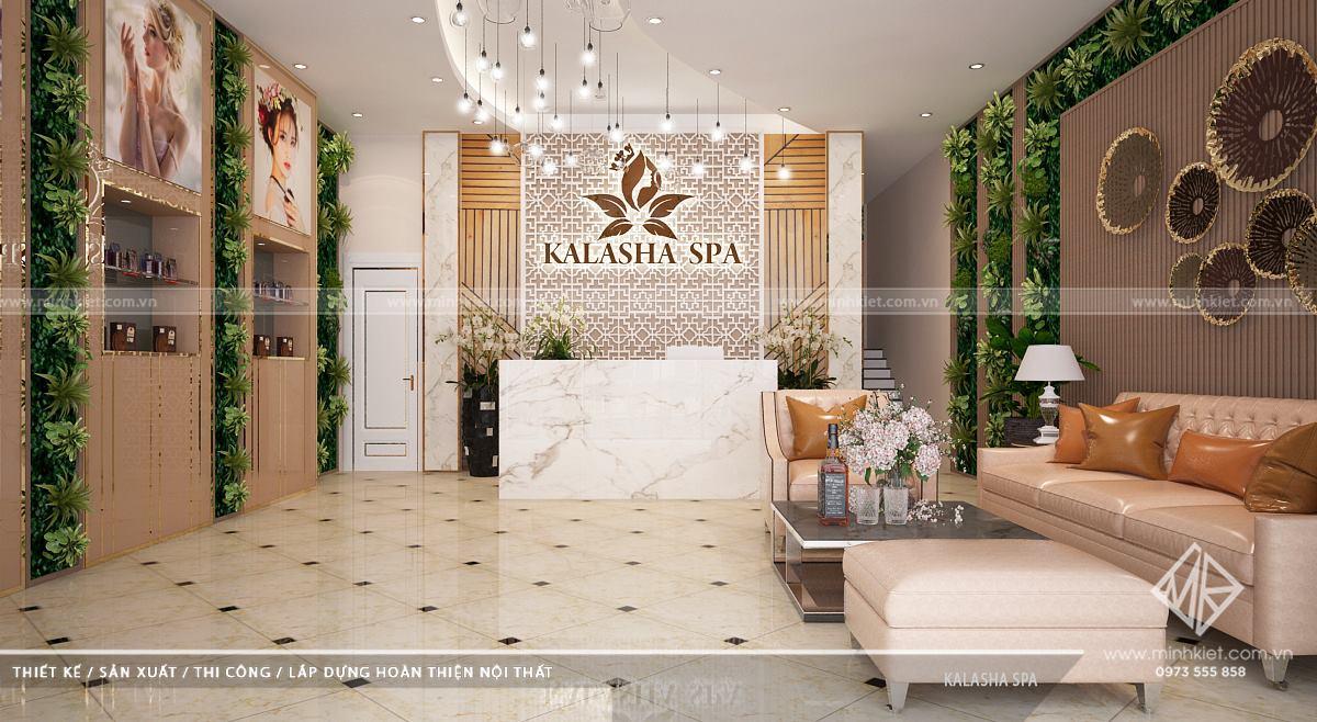 Thiết Kế Spa Kalasha Vinhomes - Phong Cách Thiết Kế Spa Hiện Đại