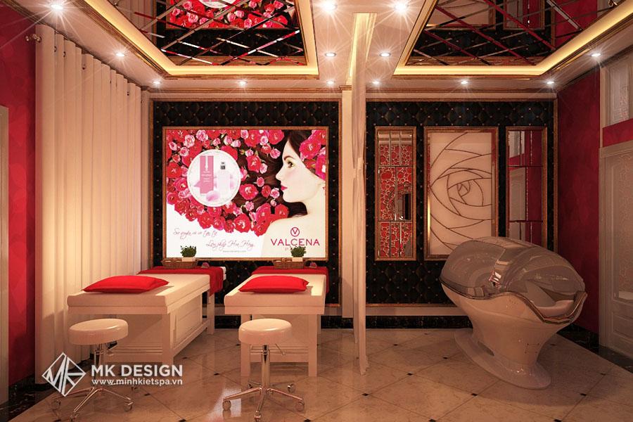 Thiết kế thi công thẩm mỹ viện V-Medical SPA Hà Nội