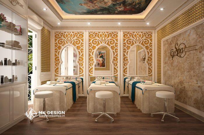 Thiết Kế Phòng Massage - Mẫu Thiết Kế Phòng Massage Vip
