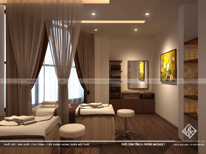 Thiết kế Spa Tâm Sen