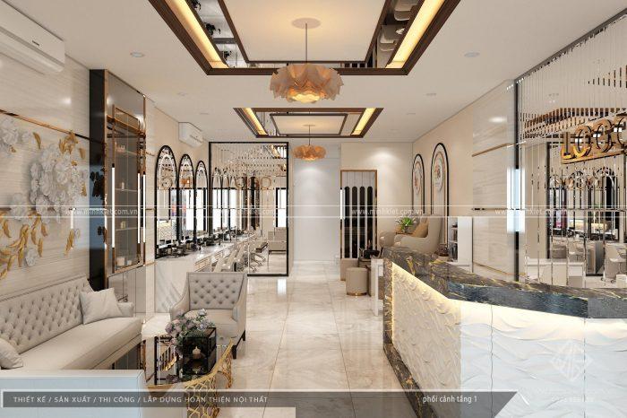 Thiết kế spa Như Quỳnh - Phong cách thiết kế nội thất spa đẹp